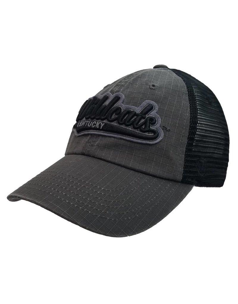 Top of the World HAT, ADJUSTABLE, SPADE, CHAR/BLK, UK