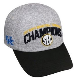 Top of the World HAT, ADJUSTABLE, SEC CHAMPS 2017, GRAY, UK