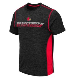 Colosseum Athletics TEE, SS, TONGA, POLY SLUB, BLACK, UL