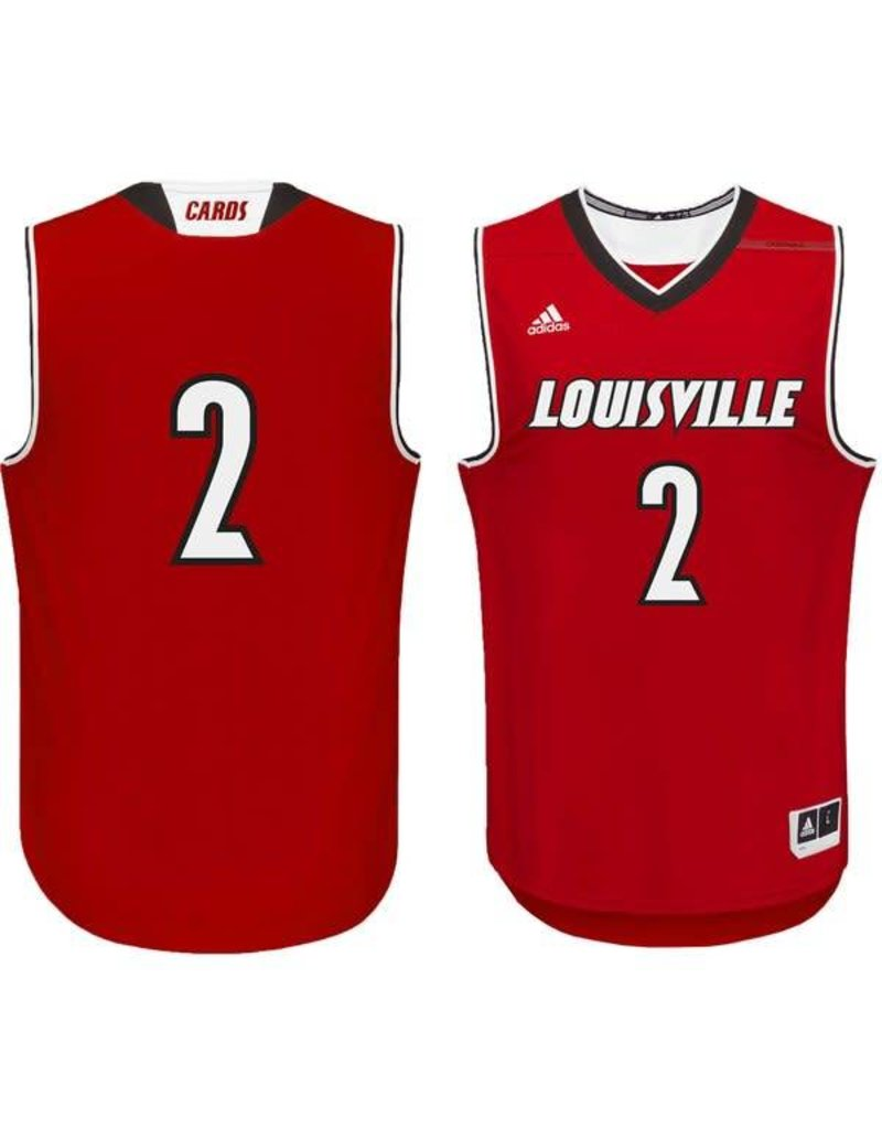 Adidas Sports Licensed JERSEY, ADIDAS, BASKETBALL, RED, UL
