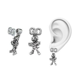 EARRINGS, GO MASCOT, UL