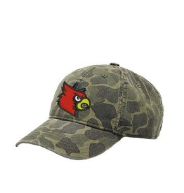Adidas Sports Licensed HAT, LADIES, ADJUSTABLE, CAMO, UL