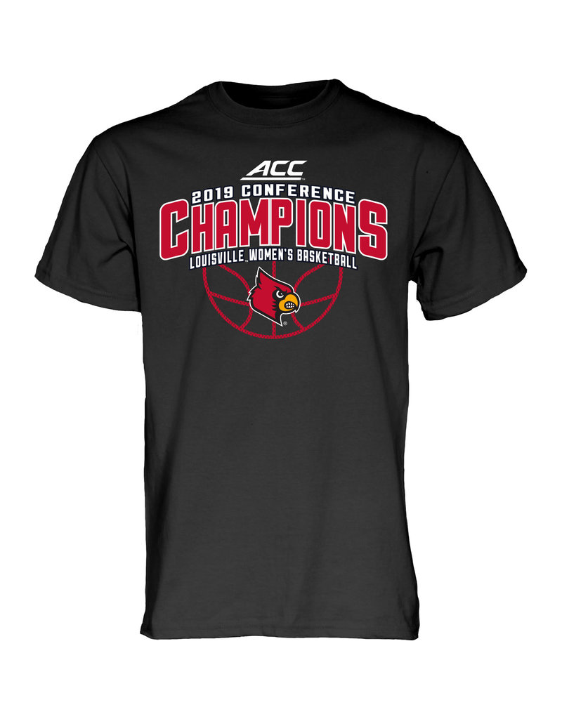 Step Ahead Sportswear *TEE, SS, WOMENS ACC CONFERENCE CHAMPS, BLACK, UL