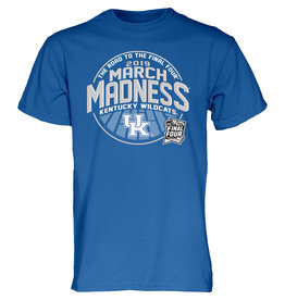 Step Ahead Sportswear **TEE, SS, MARCH MADNESS, ROYAL, UK