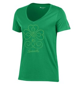 Champion Products TEE, LADIES, SS, ST. PATTY'S DAY, GREEN, UL-C
