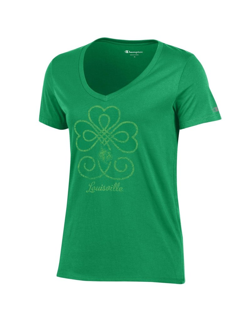 Champion Products TEE, LADIES, SS, ST. PATTY'S DAY, GREEN, UL