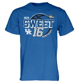 BLUE 84 TEE, SS, SWEET 16, ROYAL, UK-C