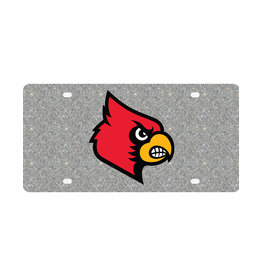Stockdale Technologies LICENSE PLATE, GLITTER, SILVER, UL