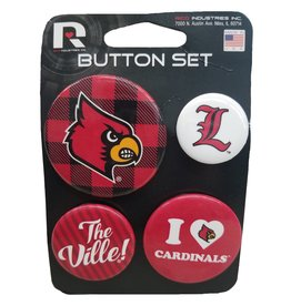 Rico Industries BUTTONS, SET OF 4, UL
