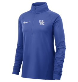 Nike Team Sports PULLOVER, LADIES, 1/4 ZIP, NIKE, TOP REPLEN, ROYAL, UK