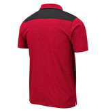Colosseum Athletics POLO, I WILL NOT, BLK/RED, UL