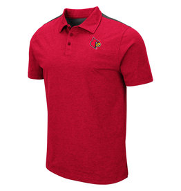 Colosseum Athletics POLO, I WILL NOT, RED/BLK, UL