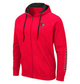 Colosseum Athletics HOODY, FZ, COMIC BOOK, RED, UL