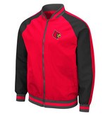 Colosseum Athletics JACKET, BOMBER, KENT, RED/BLK, UL