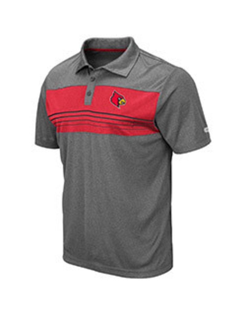 Colosseum Athletics POLO, SMITHERS, CHARCOAL, UL