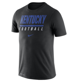Nike Team Sports TEE, SS, NIKE, FOOTBALL, BLACK, UK