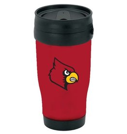 Jaymac Sports Products MUG, PLASTIC, TRAVEL, RED, UL