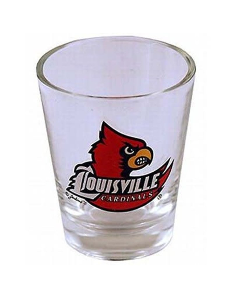 SHOT GLASS, WING, CLEAR, UL