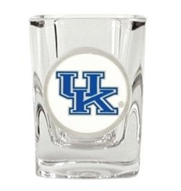 SHOT GLASS, SQUARE, UK