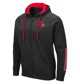 Colosseum Athletics HOODY, FZ, COMIC BOOK, BLACK, UL