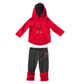 Colosseum Athletics SET, INFANT, MINERVA, LEGGING, RED/CHAR, UL