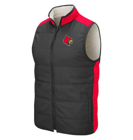 Colosseum Athletics VEST, REVERSIBLE, BLINKY, CHAR/RED, UL