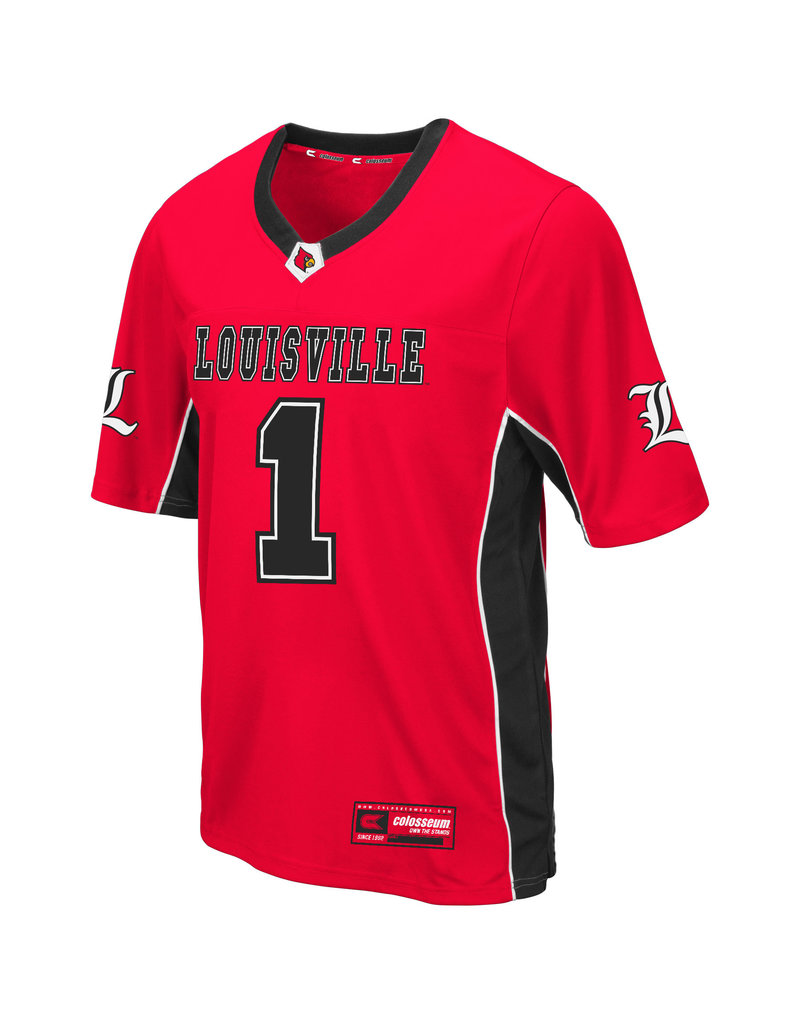 Colosseum Athletics JERSEY, FOOTBALL, MAX POWER, RED, UL