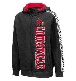 Colosseum Athletics HOODY, YOUTH, DUKE, BLACK, UL