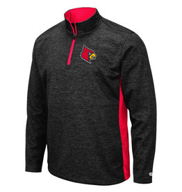 Colosseum Athletics PULLOVER, 1/4 ZIP, SANJAY, BLACK, UL