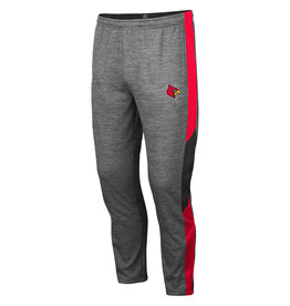 Colosseum Athletics PANT, BART, GRAY/RED, UL
