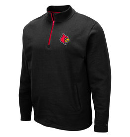 Colosseum Athletics PULLOVER, 1/4 ZIP, COMIC BOOK, BLK, UL
