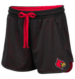 Colosseum Athletics SHORT, LADIES, SHOES FIRST, RED/BLK, UL