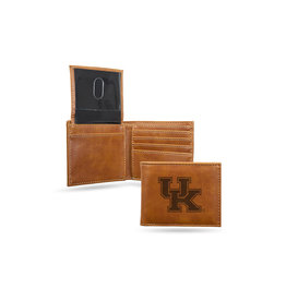 Rico Industries WALLET, BILLFOLD, ENGRAVED, BROWN, UK