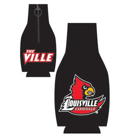 Jaymac Sports Products BOTTLE COOZIE, BLACK, LOGO, UL