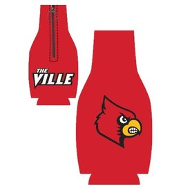 Jaymac Sports Products BOTTLE COOZIE, RED, LOGO, UL