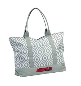Logo Chair TOTE BAG, IKAT, GRAY, UL