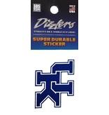 SDS Designs DECAL, DIZZLER, UK, 2 INCH, UK