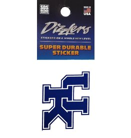 SDS Designs DECAL, DIZZLER, UK, 2 INCH, UK