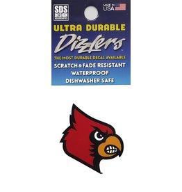 SDS Designs DECAL, DIZZLER, HEAD, 2 IN, UL