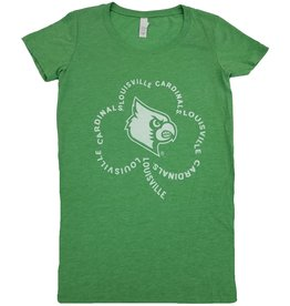 BLUE 84 TEE, LADIES, SS, SHAMROCK, GREEN, UL