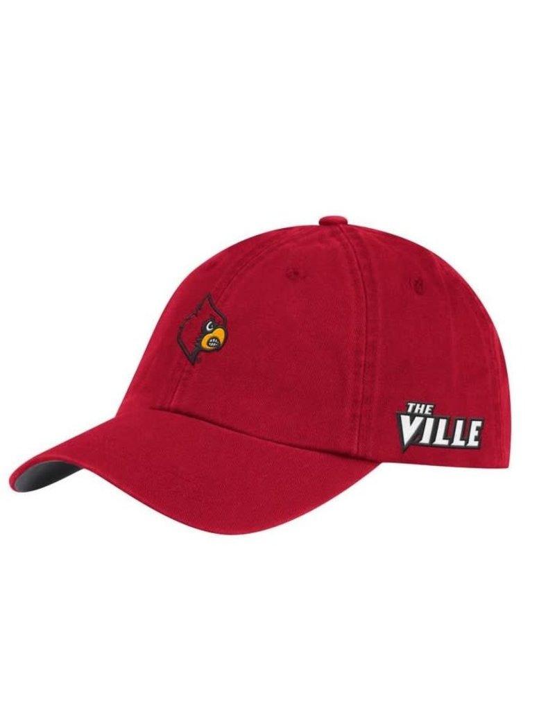 Adidas Sports Licensed HAT, ADJUSTABLE, ADIDAS, DAD HAT, RED, UL