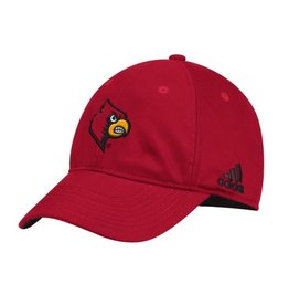 Adidas Sports Licensed HAT, ADJUSTABLE, ADIDAS, SLOUCH, RED, UL