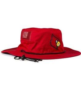 HAT, BUCKET, RED, UL