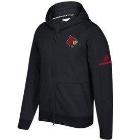 Adidas Sports Licensed JACKET, LADIES,  FZ, ADIDAS, SQUAD, BLACK, UL