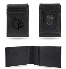 Rico Industries WALLET, FRONT POCKET, ENGRAVED, BLACK, UL