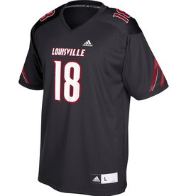 Adidas Sports Licensed JERSEY, ADIDAS, REPLICA #18, BLACK, UL