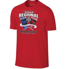 *TEE, SS, CWS, SUPER REGIONAL, RED, UL
