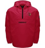 MTC Marketing PULLOVER, 1/4 ZIP, RAIN, ANORAK, RED, UL
