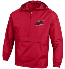 Champion Products PULLOVER, WINDBREAKER, PACK & GO, RED, UL