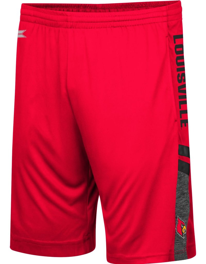 Colosseum Athletics SHORT, PERFECT, RED, UL